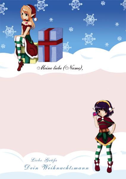 Brief vom Weihnachtsmann - Design 5