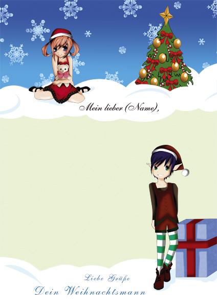 Brief vom Weihnachtsmann - Design 7