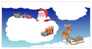 Brief vom Weihnachtsmann - Briefumschlag